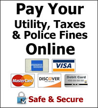 Pay Your City of Patterson Utility, Police Fines, Taxes Online